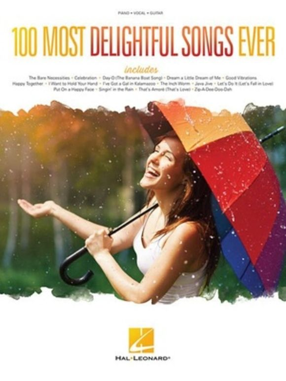 100 Most Delightful Songs Ever Hal Leonard