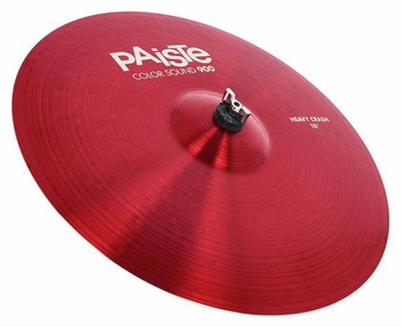"18"" 900 Color Heavy Crash RED Paiste"