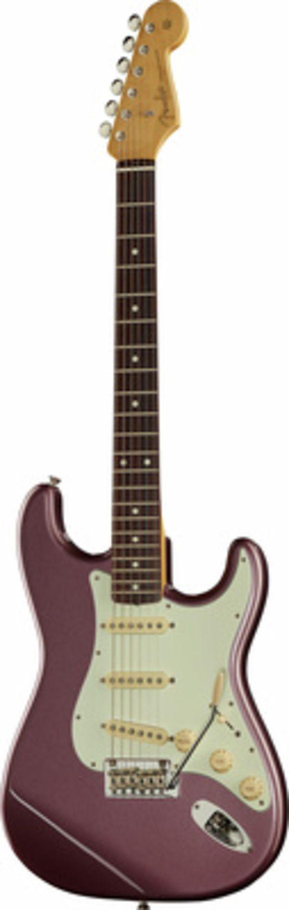 Hybrid 60s Strat Burgundy Fender