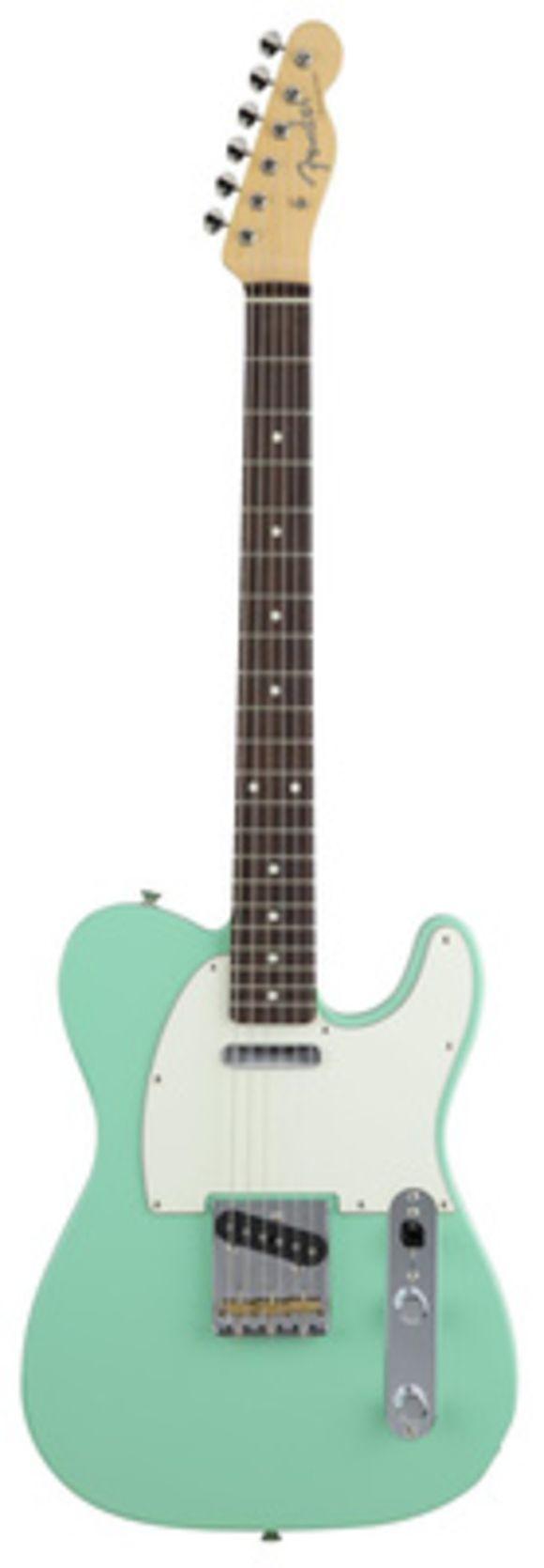 Hybrid 60s Tele Surf Green Fender