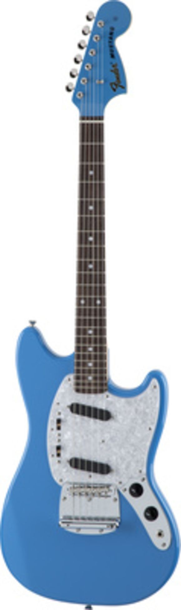 Traditional 70s Mustang Blue Fender