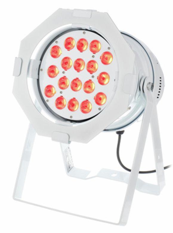 LED Par 64 CX-6 HEX 18x12W WH Stairville