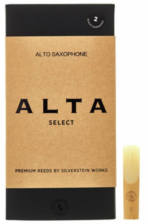 ALTA Alto Reeds (10 piece) 2 Silverstein