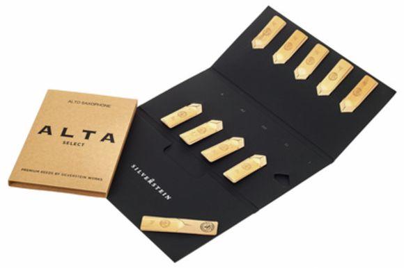 ALTA Alto Reeds (10 piece) 3,5 Silverstein