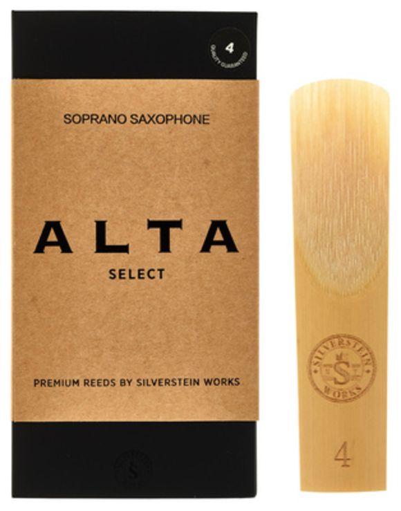 ALTA Soprano Reeds (10 p.) 4 Silverstein