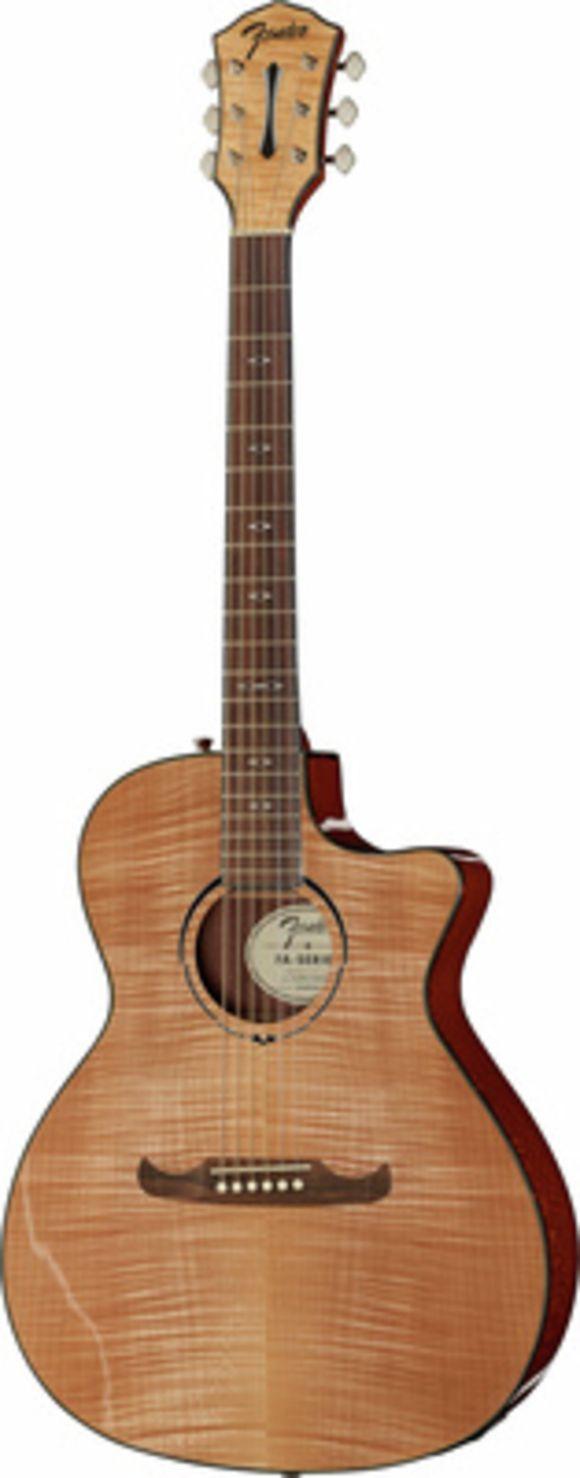 FA-345CE Auditorium Natural Fender
