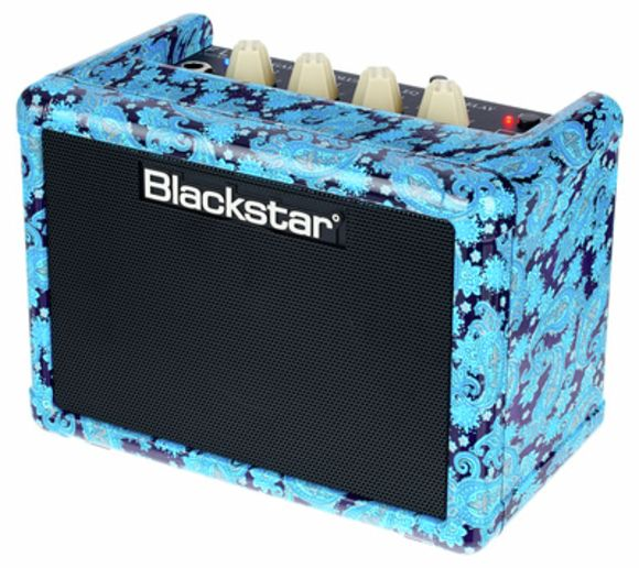 Fly3 Bluetooth Purple Paisley Blackstar
