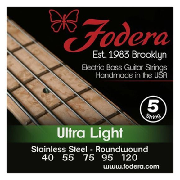 5-String Set Ultralight SS XL Fodera