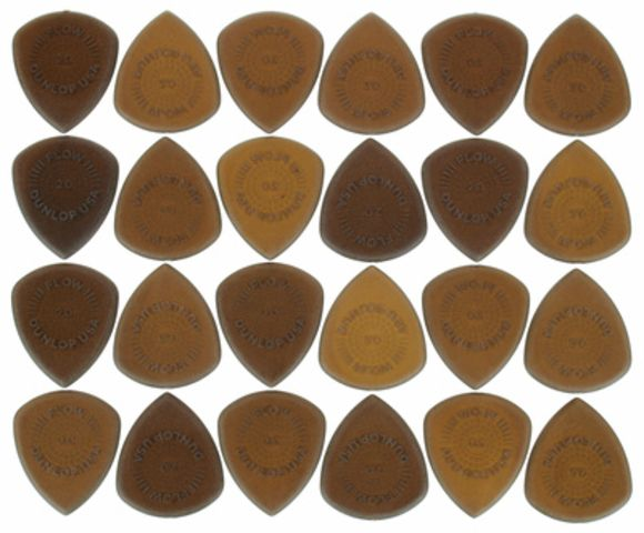 Flow Standard Picks 2.00 olive Dunlop