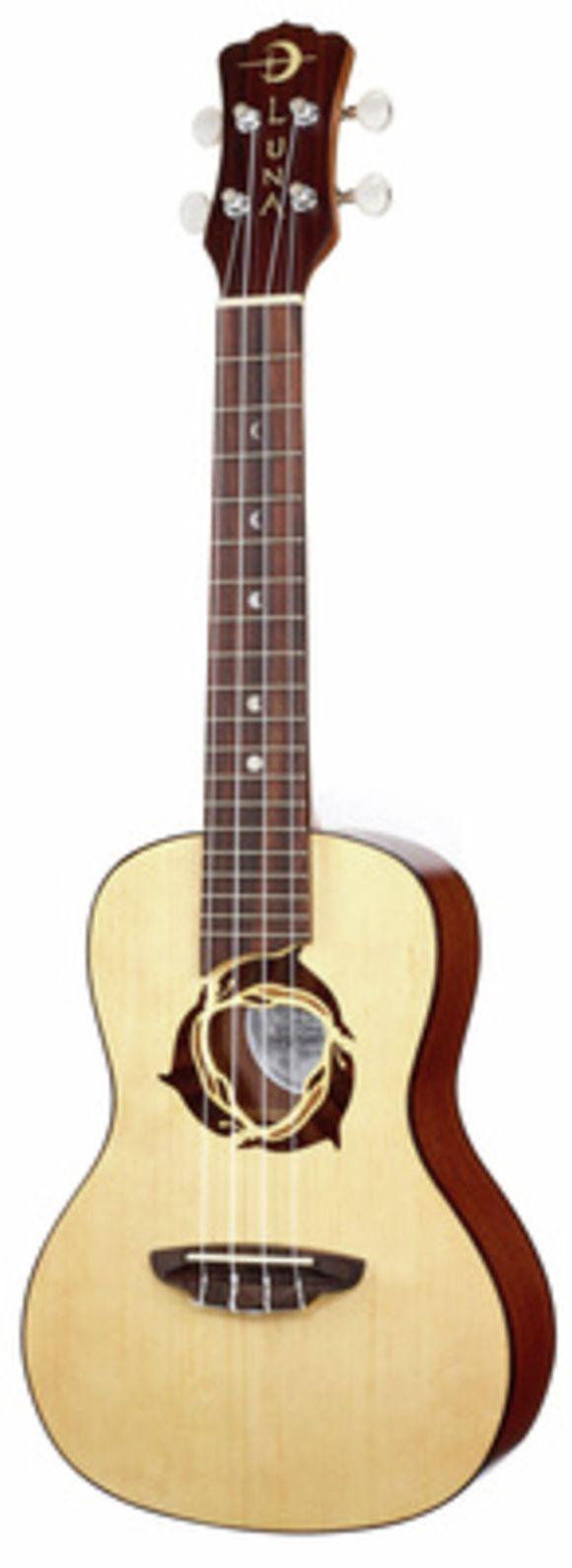Uke Dolphin Concert Luna Guitars