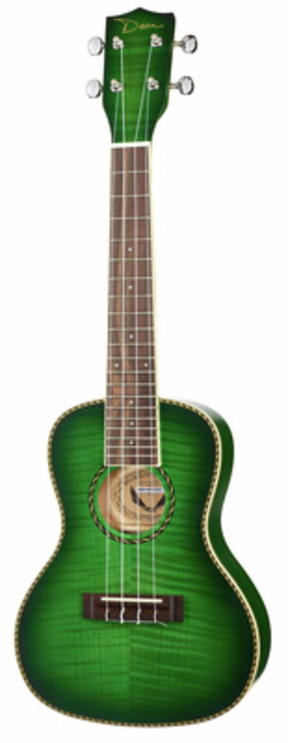 Ukulele Concert Flame Maple TG Dean Guitars