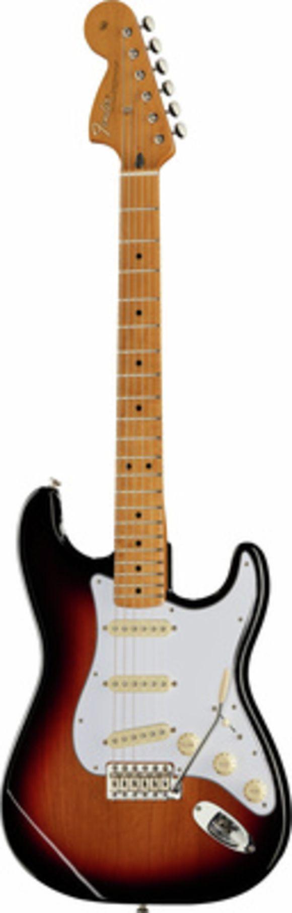 Jimi Hendrix Strat MN 3TS Fender