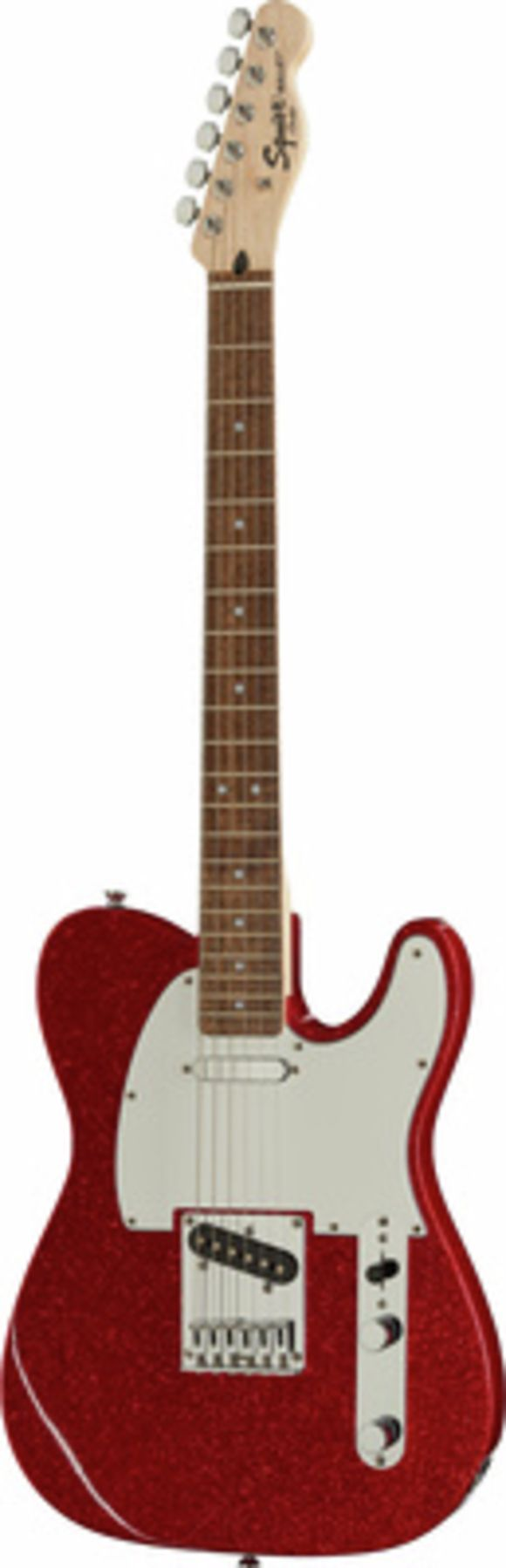 SQ Bullet Tele LRL Red SPKL Fender