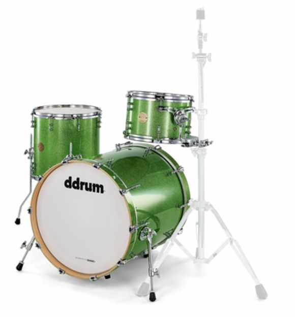 Dios 320 Emerald Green Sparkle DDrum