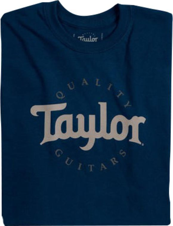 T-Shirt Taylor Guitars Navy M Taylor