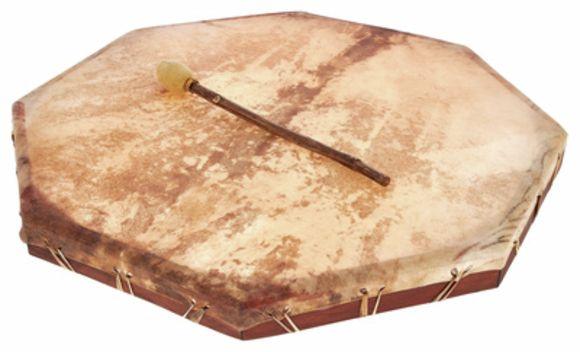 557 Shaman Drum 70cm Terre