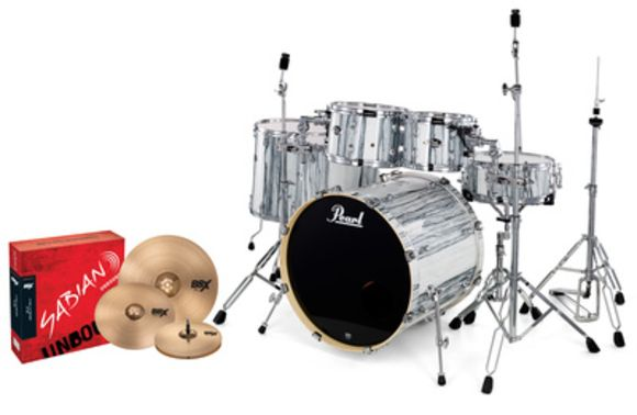 Export Limited Set White Limba Pearl