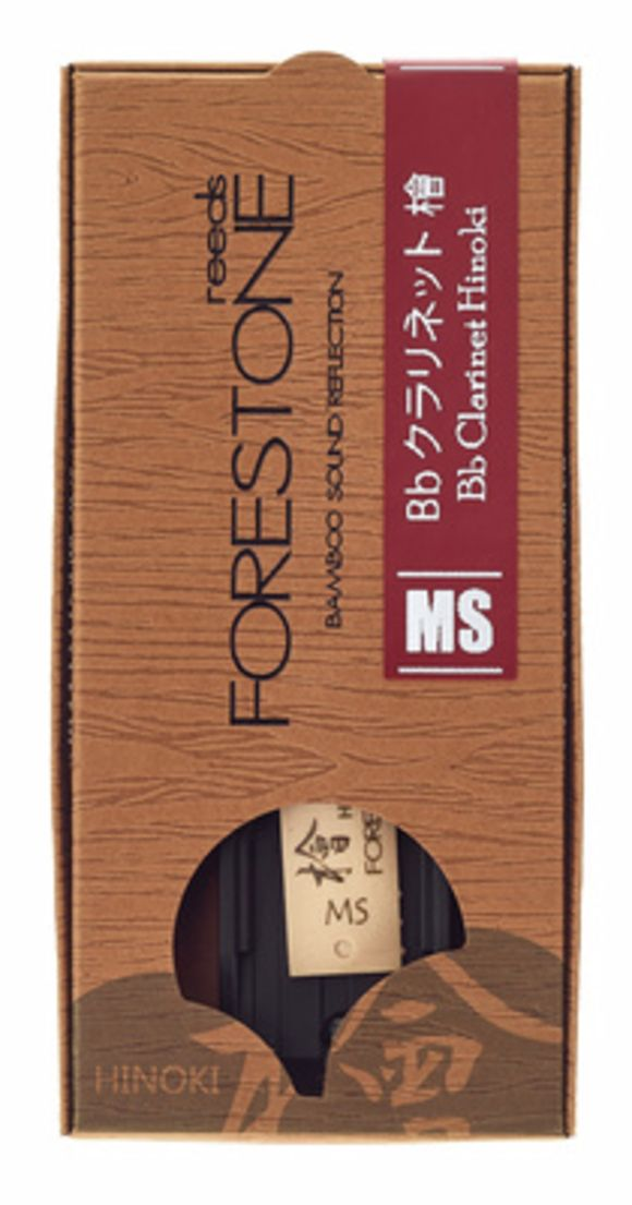 Hinoki Clarinet Bb MS Forestone