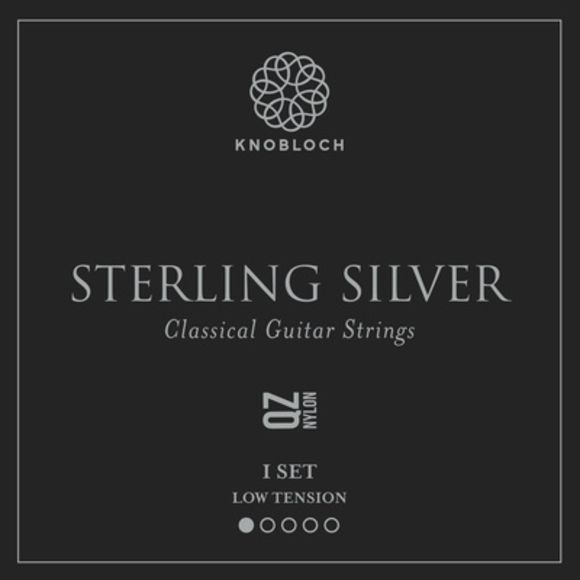 Pure Sterling Silver Nylon 200 Knobloch Strings