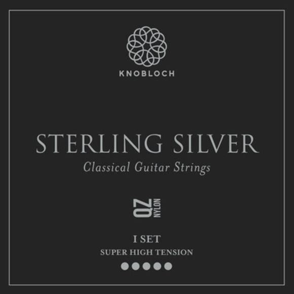 Pure Sterling Silver Nylon 600 Knobloch Strings