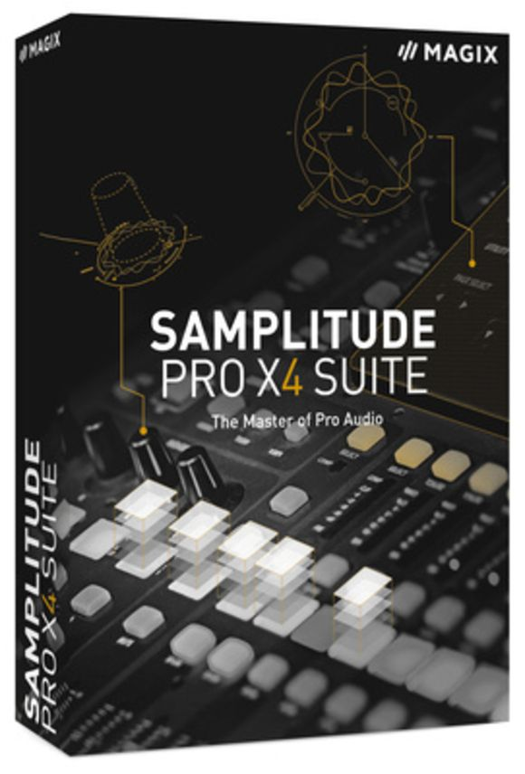Samplitude Pro X4 Suite EDU Magix