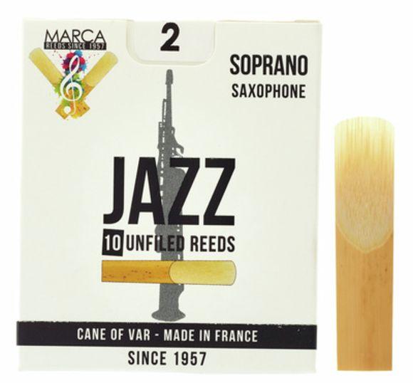 Jazz unfiled Soprano Sax 2 Marca