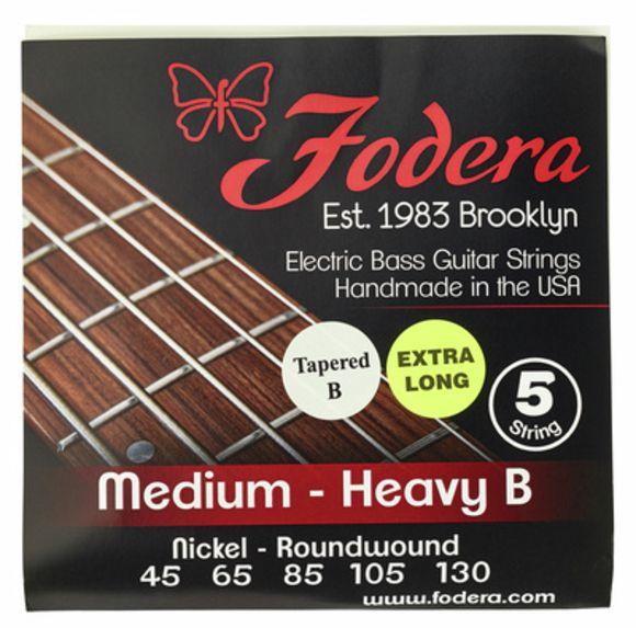 5-String Set Med.Heavy N TB XL Fodera