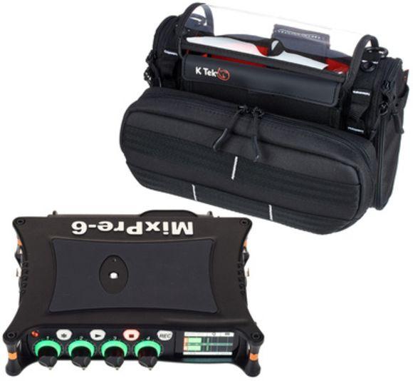 MixPre-6 Bag Bundle Sound Devices