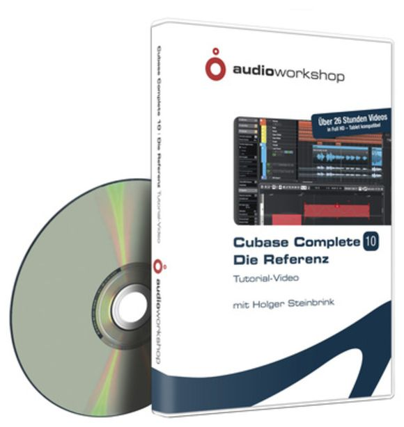 Cubase Complete 10 Reference Audio Workshop