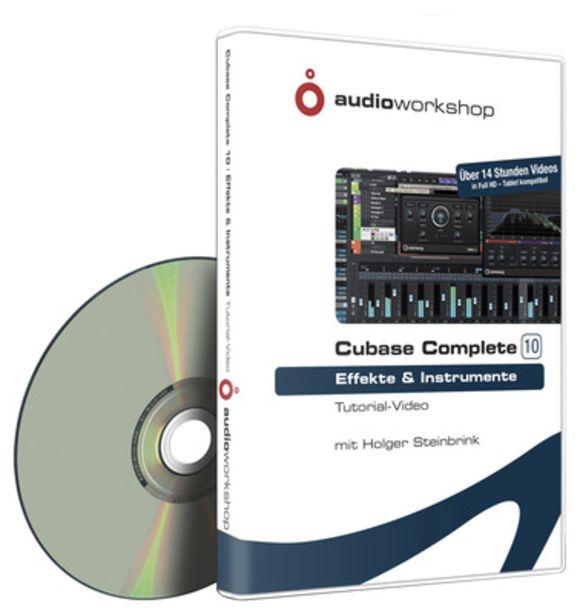 Cubase Complete 10 Effekte Audio Workshop