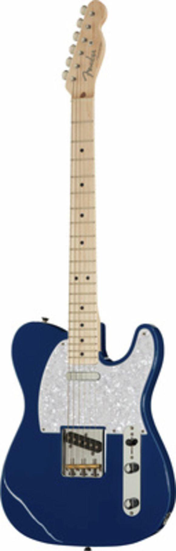 Hybrid Tele MN Indigo Fender