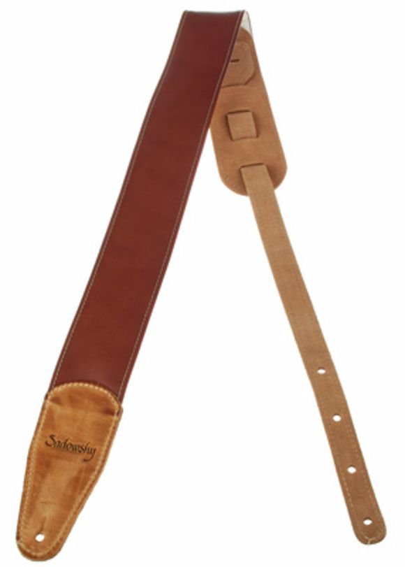 Bass  Leather Strap Brown Sadowsky