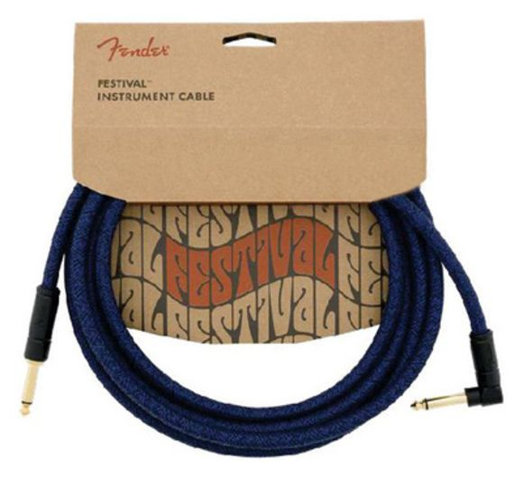 FV Series Cable Cotton Blue Dr Fender