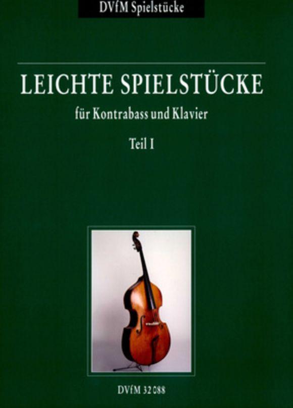 Leichte Spielstücke 1 Kontrab. Deutscher Verlag für Musik
