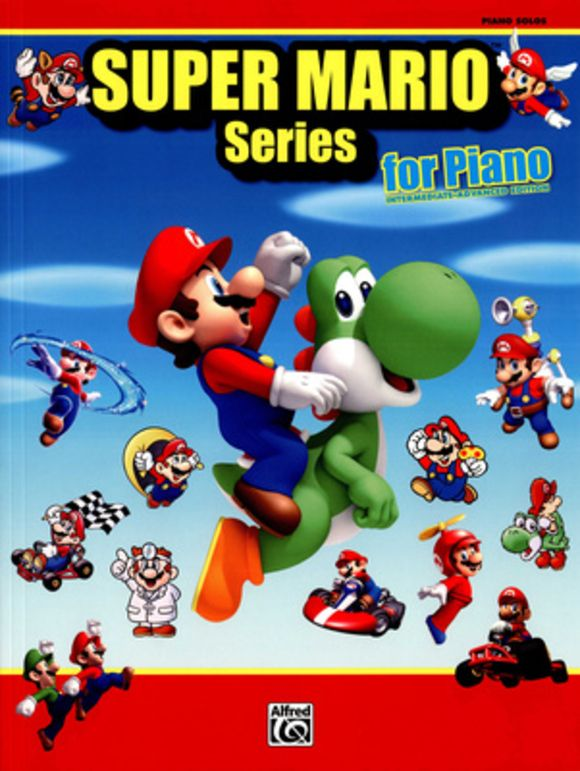 Super Mario Series For Piano Alfred Music Publishing