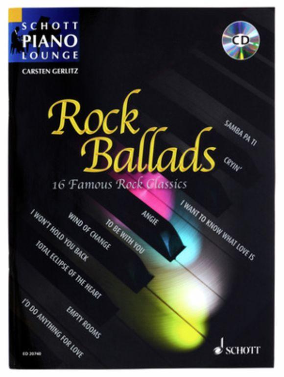 Rock Ballads 1 Piano Schott