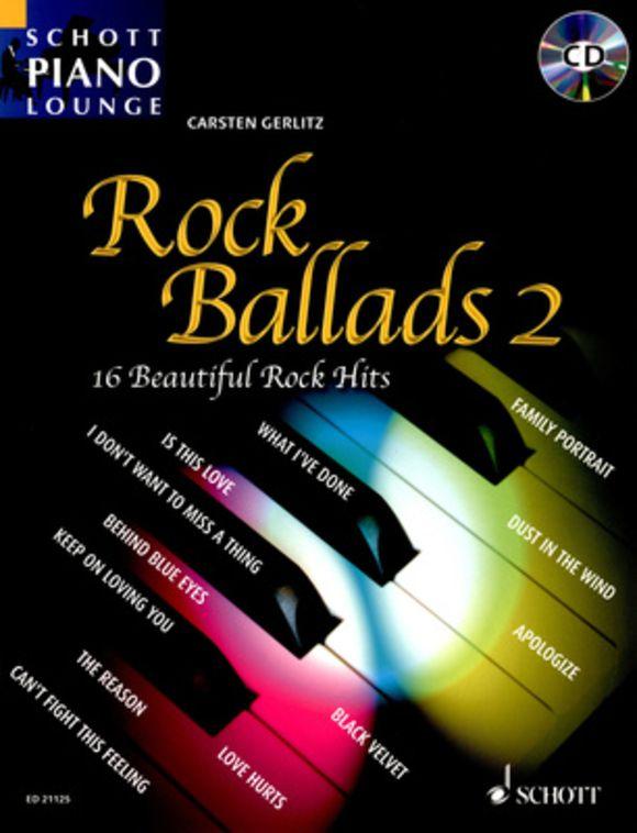 Rock Ballads 2 Piano Schott