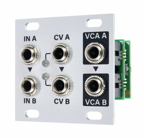 Dual VCA 1U Intellijel Designs