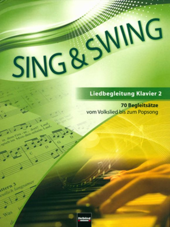 Sing & Swing Klavierbegleitung Helbling Verlag