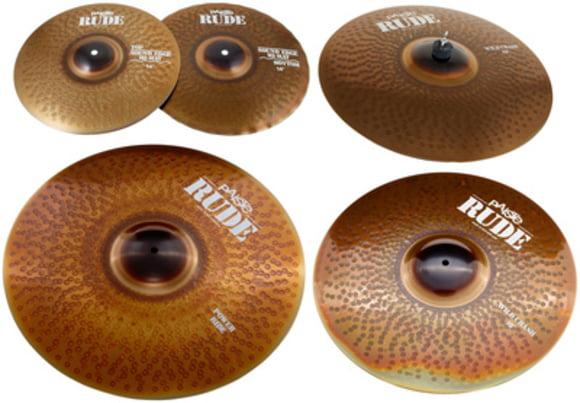Rude Wild Cymbal Set Paiste