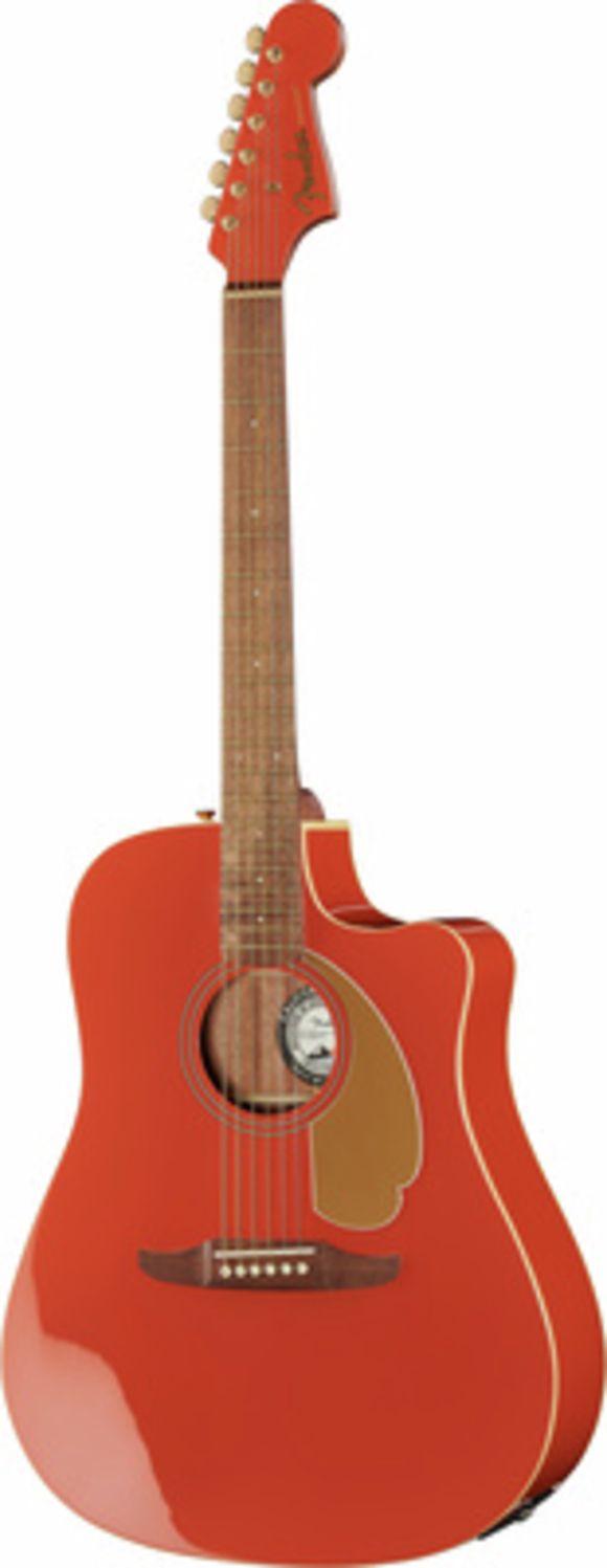 Redondo Player WN Fiesta Red Fender