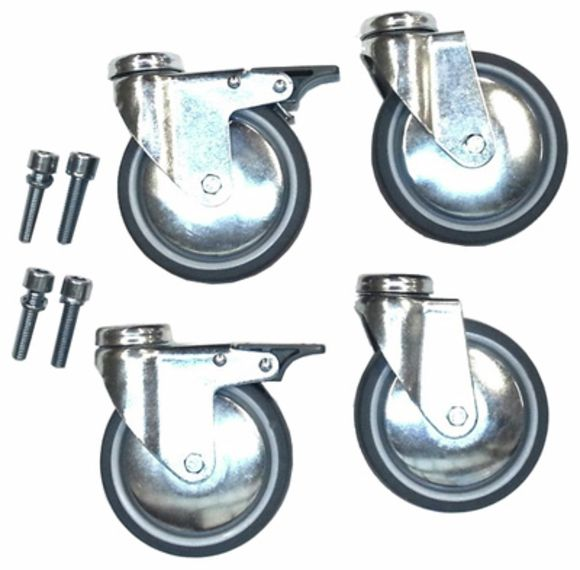 Caster Set with 4 casters/100 Jaspers