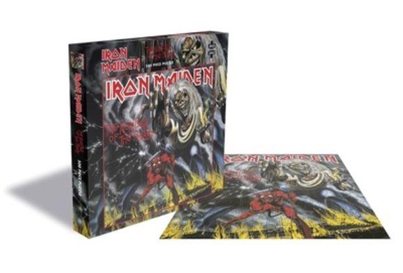 Jigsaw Puzzle Iron Maiden Plastic Head