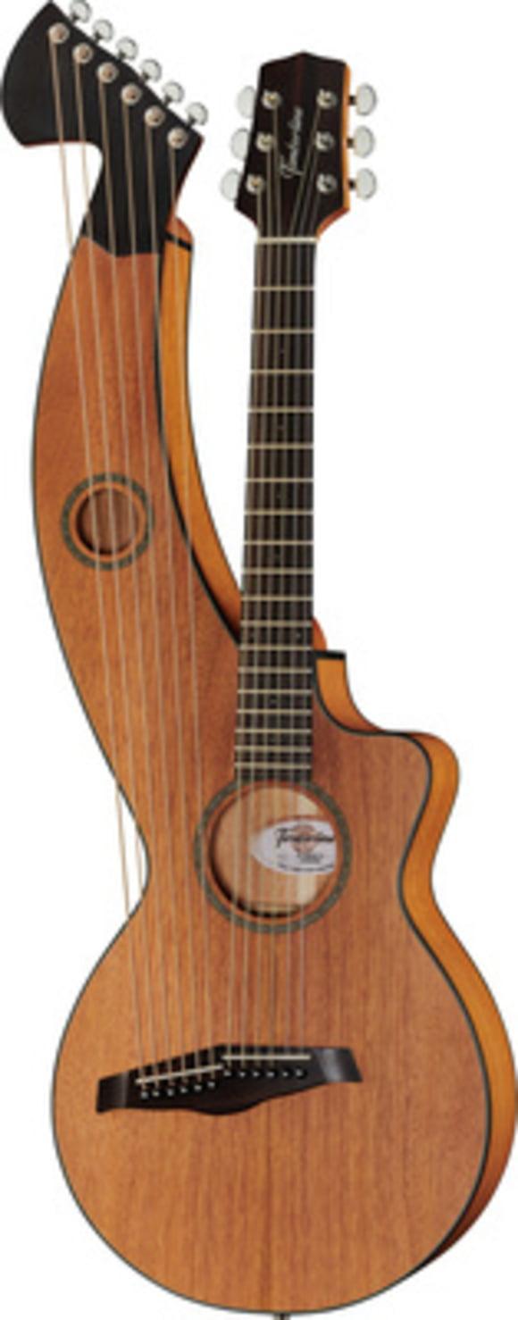 T20HGpc-e Harp Guitar Timberline Guitars