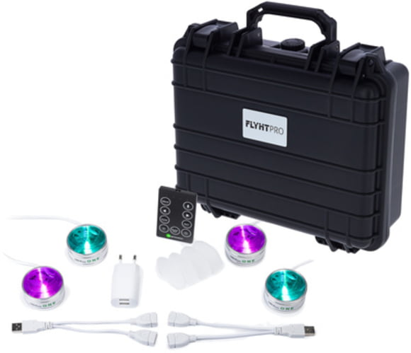 LED Puck ONE Tourpack 4in1 Fun Generation