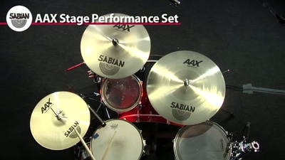 Sabian AAX Serie Performance Set