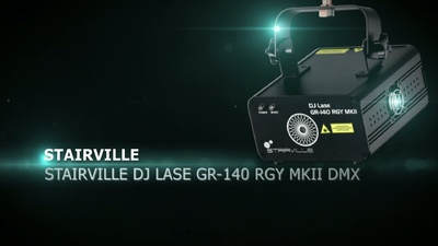Stairville DJ LASE GR-140 RGY MKII
