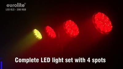 Eurolite LED KLS-200 RGB DMX