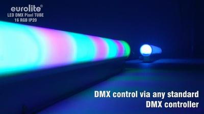 Eurolite LED DMX Pixel Tube 16 RGB IP20