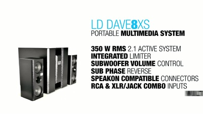 LD Systems Dave 8 XS France